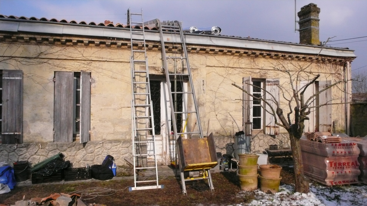 Renovation maison ancienne avant apres la rnovation - Photo renovation maison ancienne ...